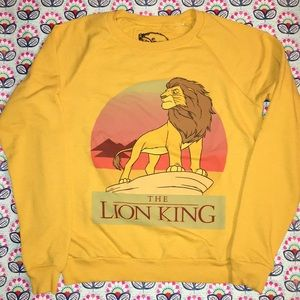 Disney Lion King vintage lightweight sweatshirt